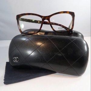 Chanel 3356 c.1580 Shiny Dark Tortoise on Gold